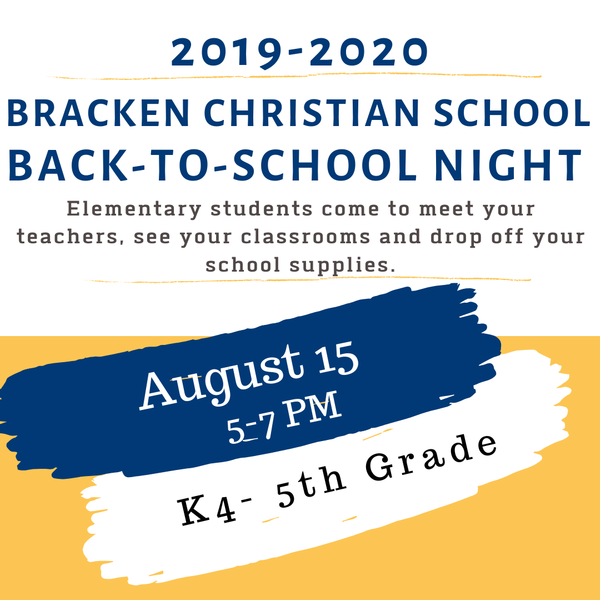 Back2School Night